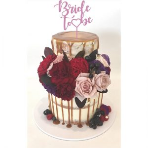Bridal Shower Cake Topper Bride-To-Be