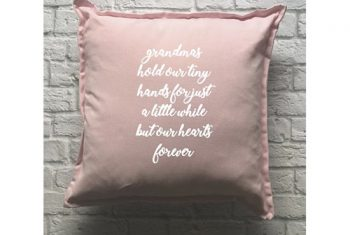 Personalised Cushion Design Cushion-With-Custom-Print-Grandma