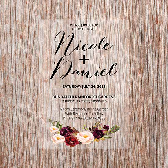 Wedding and Party Invitations