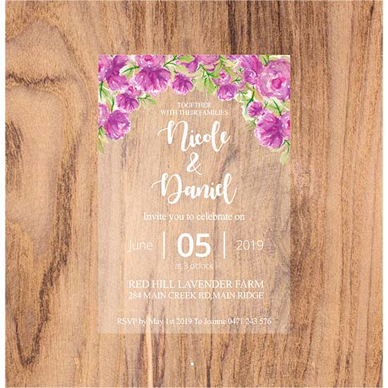 Printed-Acrylic-Invitations---Purple-Pink-Design