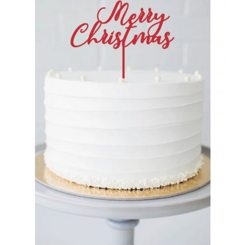Merry-Christmas-Cake-Topper