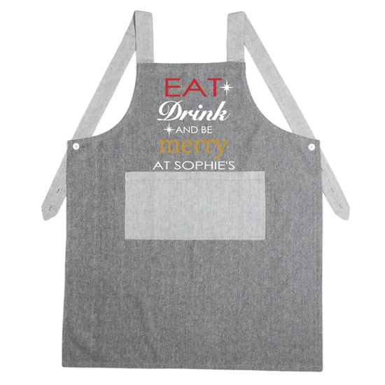 Christmas-Apron-'Eat,-Drink-&-Be-Merry'