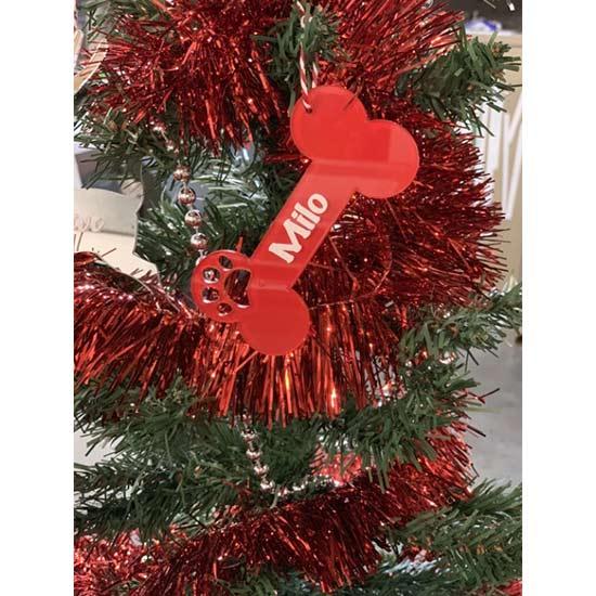 Personalised-Dog-Bone-Christmas-Tree-Decoration