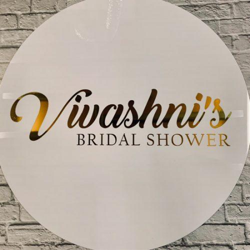 Round Bridal Shower Plaque5