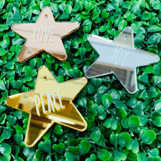 Love Peace Joy Stars Pack