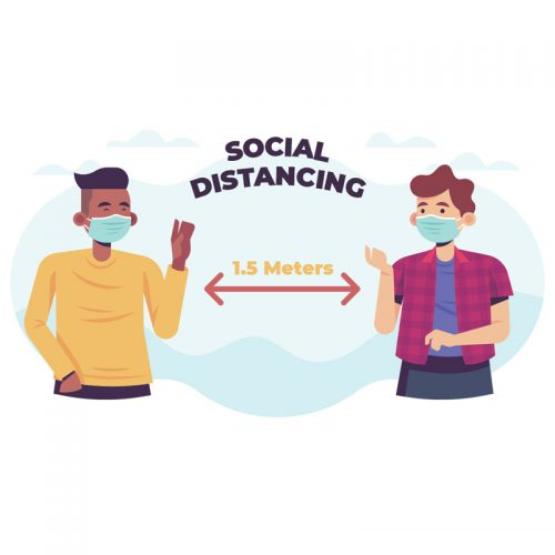 Social Distance Decals