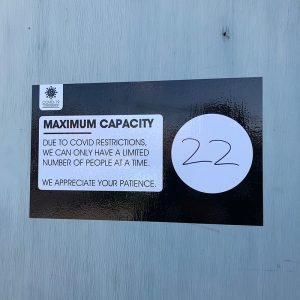 Max Capacity Decals Black