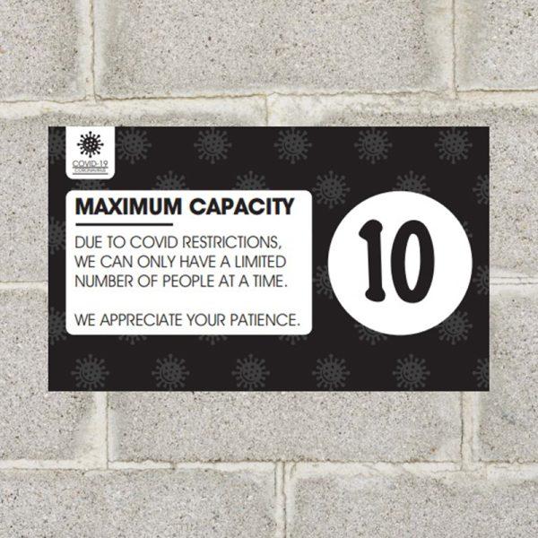 Max Capacity Decal Black1