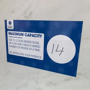 Max Capacity Decals Blue