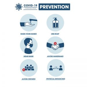 covid prevention potrait